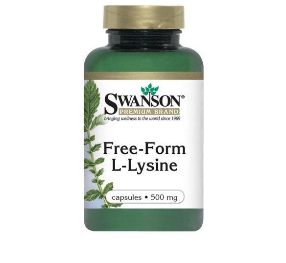 Lizyna (Free-Form L-Lysine) 300kap.