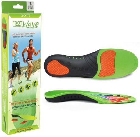 Profesjonalne wkładki ortopedyczne - SPORTOWE wspierająco-amortyzujące FootWave (Sport)