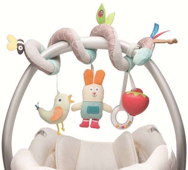 Zabawka Sprężynka do fotelika/wózka Ogród