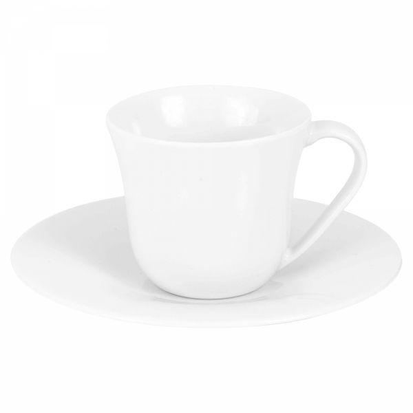 Alessi KU Filiżanki ze Spodkiem do Kawy Espresso 70 ml 2 Szt.