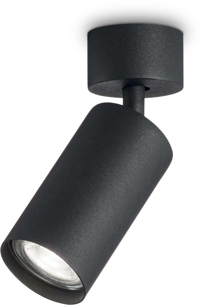 Reflektor kierunkowy Dynamite 231471 Ideal Lux lampa sufitowa w kolorze czarnym