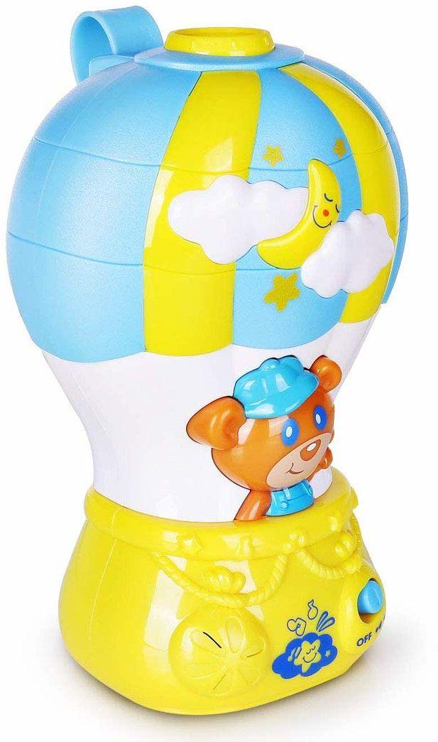 HAPPY KID, lampka nocna globus światło i dźwięk 0+ lalki i figurki (AJ 4233T)