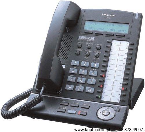 KX-T7630CE-B telefon systemowy UŻYWANY