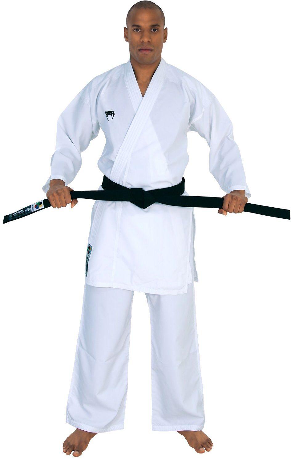 Venum męski elitarny kumite karate garnitur Gi, biały, 175 cm