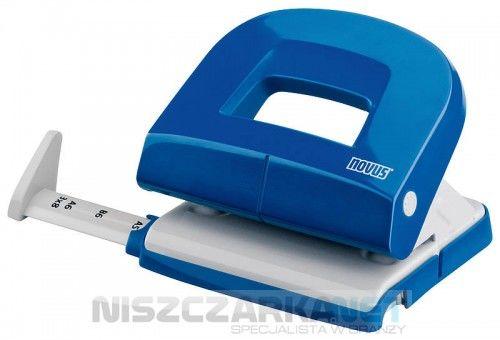 Dziurkacz biurowy NOVUS E 216 - niebieski
