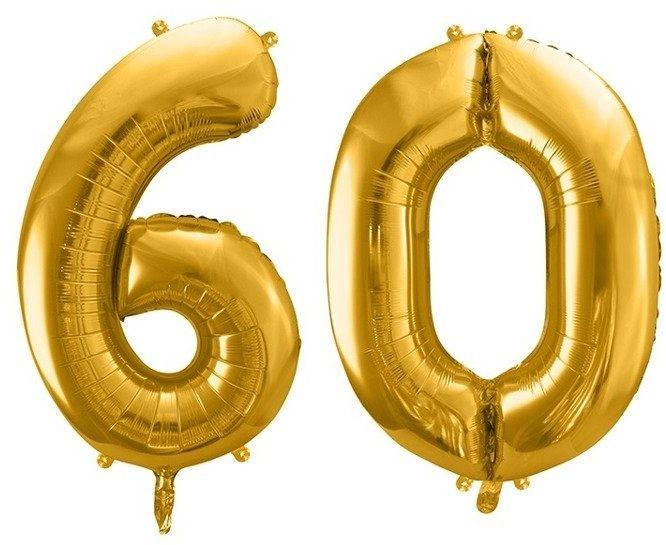 Balony foliowe 60 złote 86cm FB1M-60-019