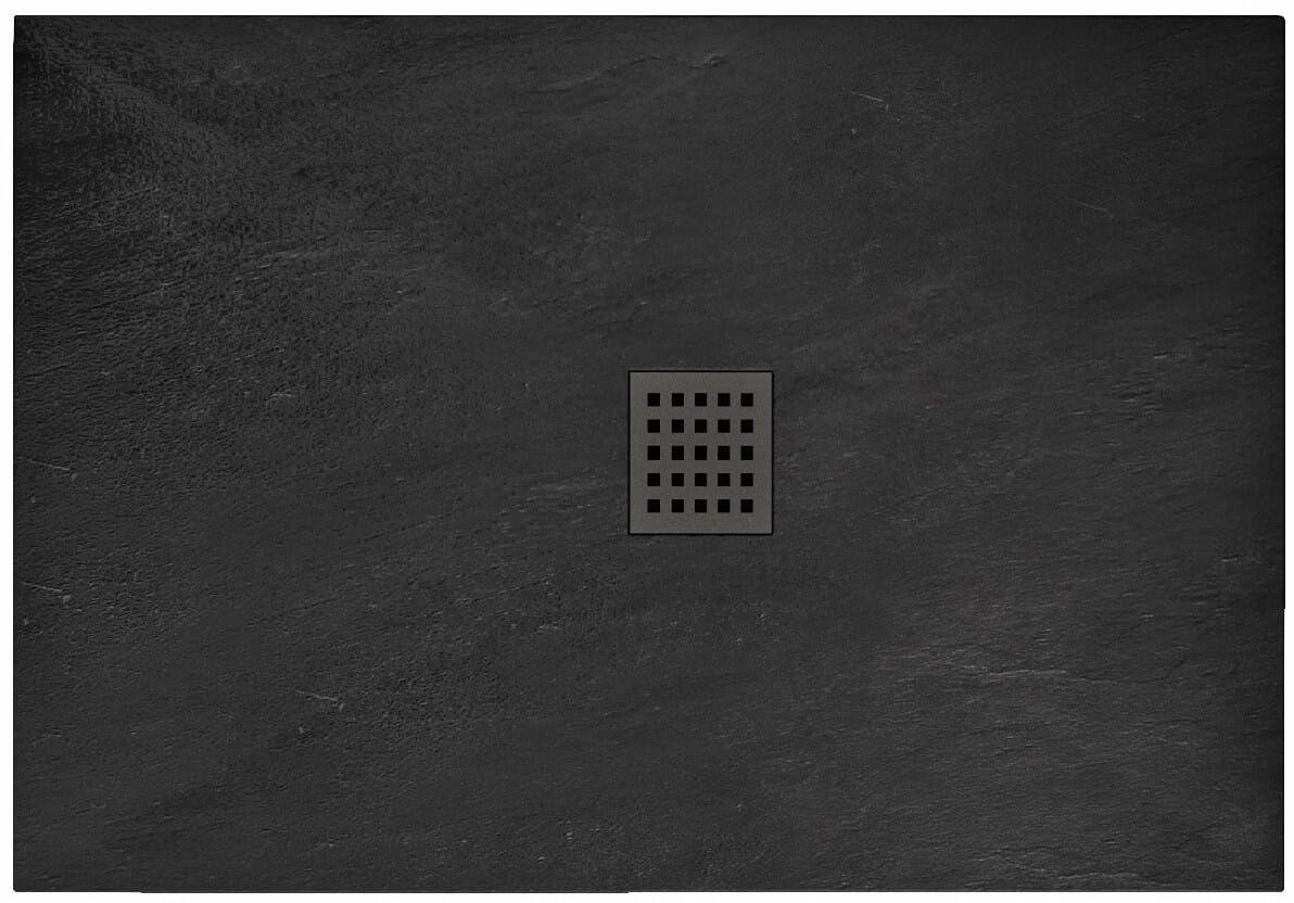 Brodzik prysznicowy 80x100 Black Rock (REA-K4578)