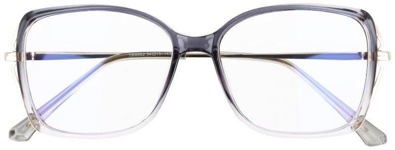 Okulary damskie z filtrem BLUE LIGHT do komputera zerówki 2544-2