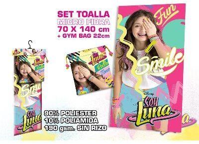 Kids Licensing  wd18213 m  zestaw ręczników plażowych  torba sportowa  Soy Illustrated O Soy Luna