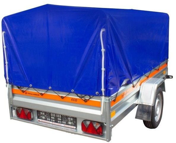 Przyczepa samochodowa Temared Eco Kipp 2312 H800