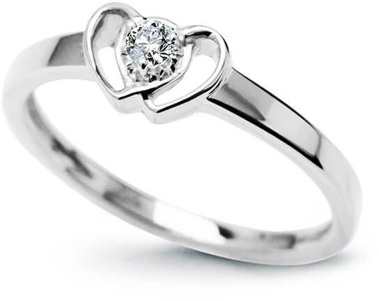 Złoty pierścionek PBD3903 - Diament