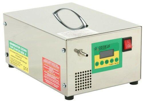 Wielofunkcyjny generator ozonu do klimatyzacji, wyłącznik czasowy, wydajność 3 - 3,5 g/h