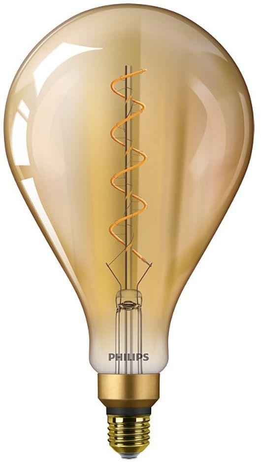 Philips Classic LEDbulb Vintage E27 A160 5W 820 Złoty Zamienne 25W