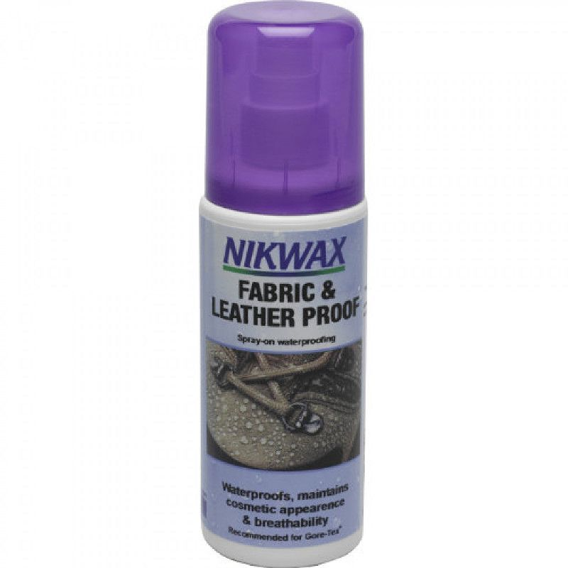 Nikwax Impregnat do obuwia z tkaniny i skóry atomizer 125ml Nikwax Fabric and Leather Proof 125ml