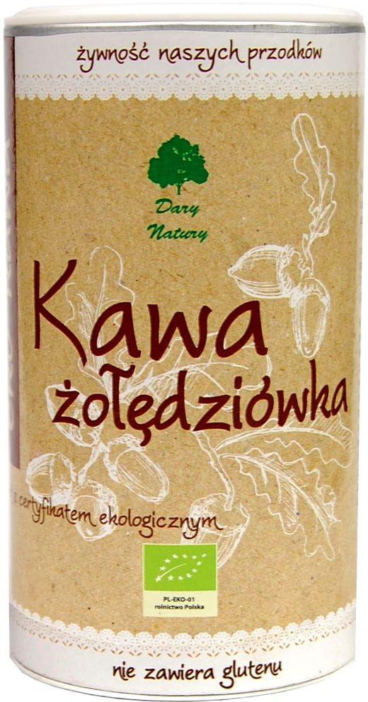 Kawa żołędziówka bezglutenowa bio 200 g - dary natury