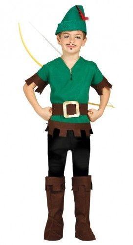 Strój dla chłopca Robin Hood, Myśliwy, Piotruś Pan