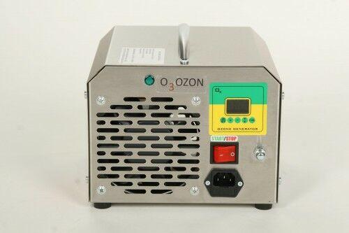 Generator ozonu do klimatyzacji, wydajność ozonu: 5 - 7 g/h, elektrody odporne na wstrząsy i uderzenia
