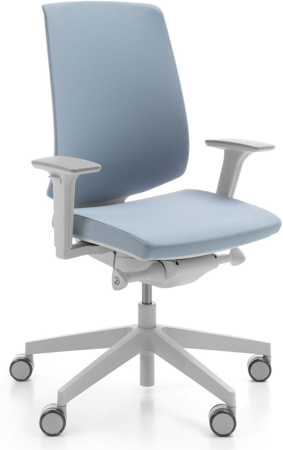 Krzesło ergonomiczne LightUp jasnoszary
