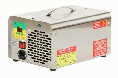 Wielofunkcyjny generator ozonu do klimatyzacji, wydajność ozonu: 10 g/h, żywotne płytki ozonowe