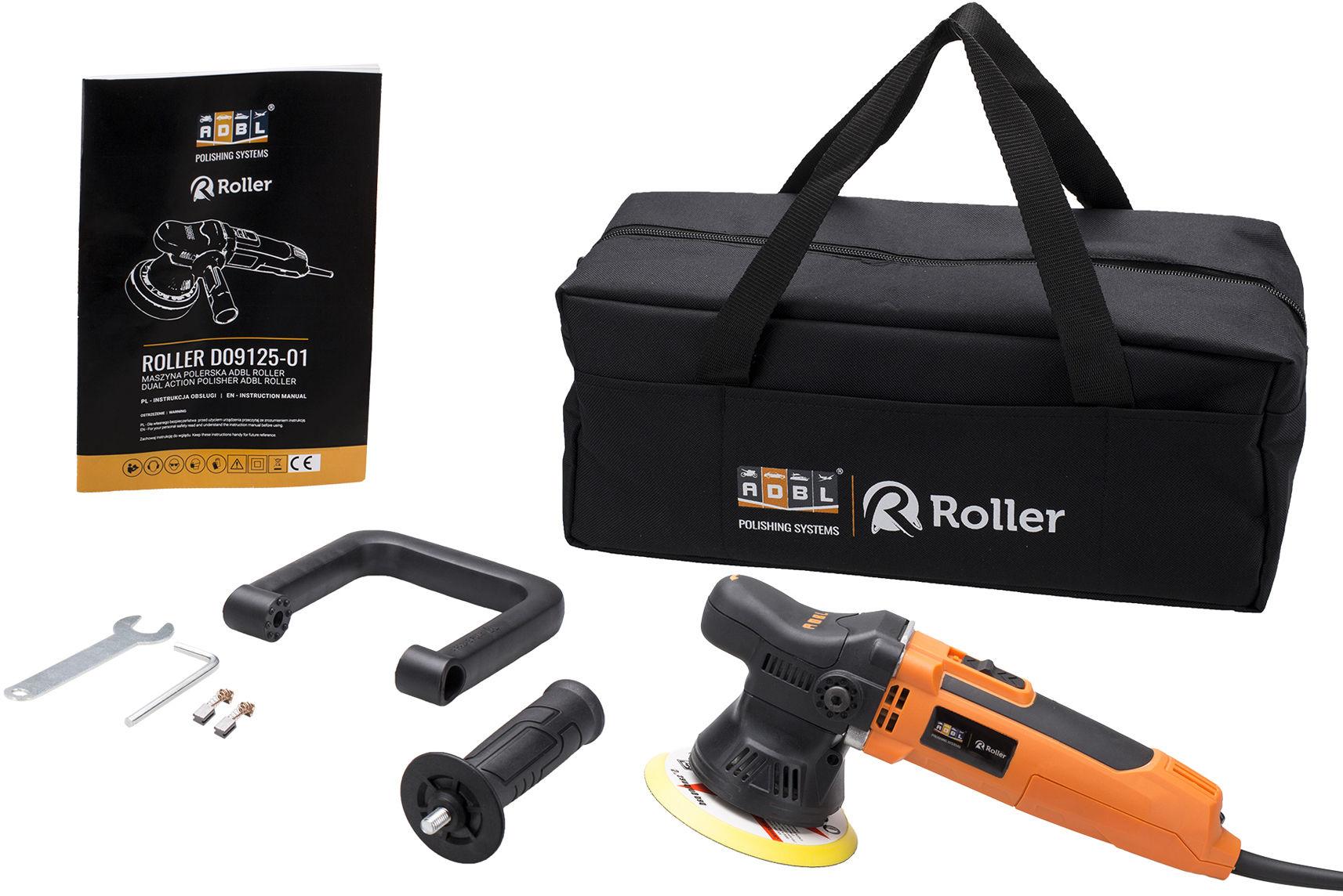 ADBL Roller Maszyna polerska + torba 9mm Polerka DA09125-01