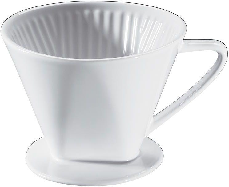 Porcelanowy drip do kawy (rozmiar 4) Cilio