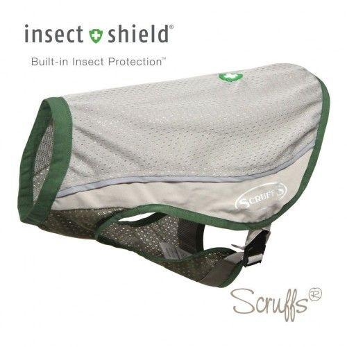Kamizelka dla psa chroniąca przed kleszczami Scruffs Insect Shield roz. M