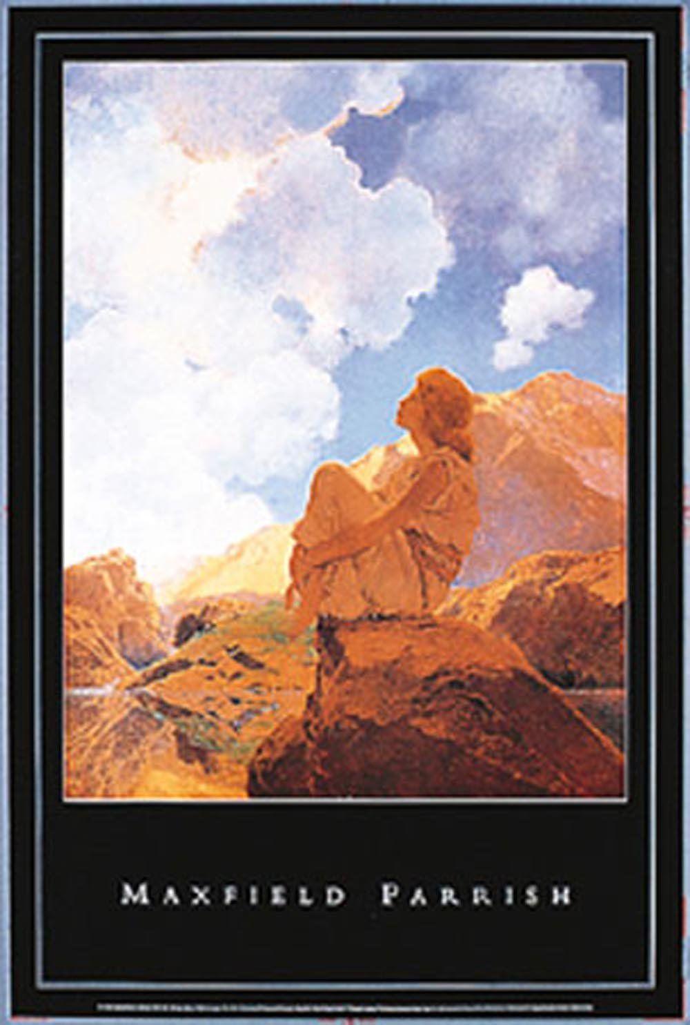 Empire 209054 Parrish, Max field - Morning, Spring - plakat - 61 x 91,5 cm