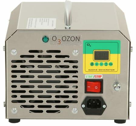Generator ozonu do klimatyzacji, wydajność ozonu: 10g/h, płytki 16g/h, elektrody odporne na wstrząsy i uderzenia