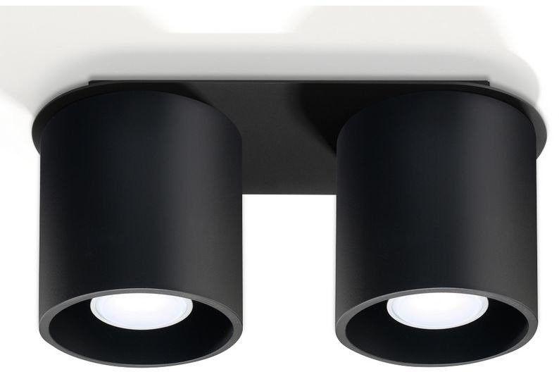 Sollux - plafon orbis 2 - czarny