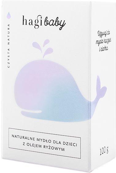Hagi Baby Naturalne Mydło Dla Dzieci Z Olejem Ryżowym 100g