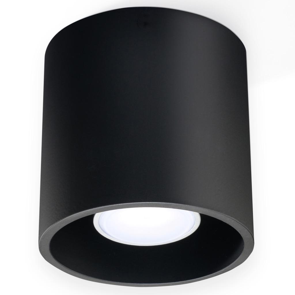 Orbis tuba downlight czarna 1 punktowa GU10 SL.0016 - Sollux // Rabaty w koszyku i darmowa dostawa od 299zł !