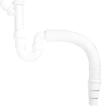 Syfon zlewozmywakowy z giętkim podłączeniem (podłączenie pod zmywarkę) Darmowa dostawa