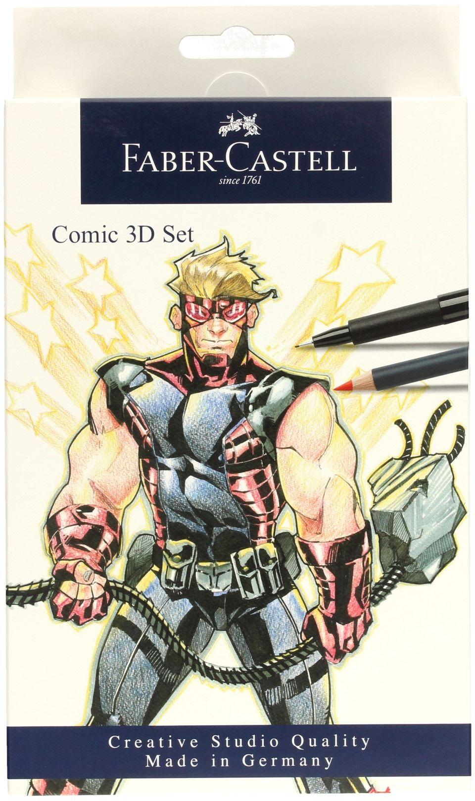 Zestaw do rysowania komiksów 11el The Famazings Faber Castell 267191FC