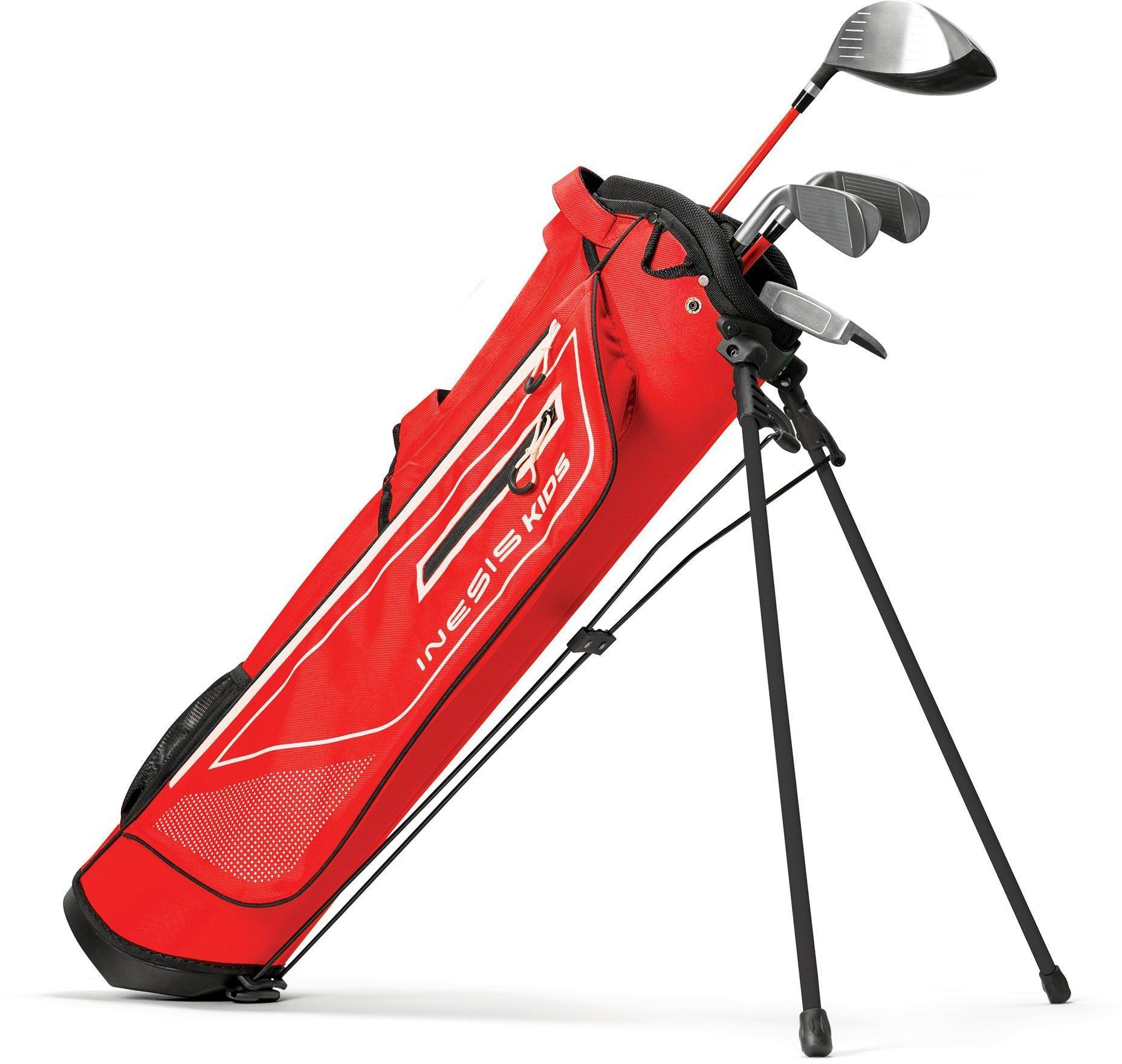 Kije golfowe zestaw dla dzieci 8-10 lat dla praworęcznych
