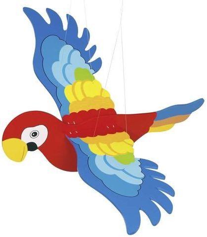 Latająca papuga do zawieszenia, goki