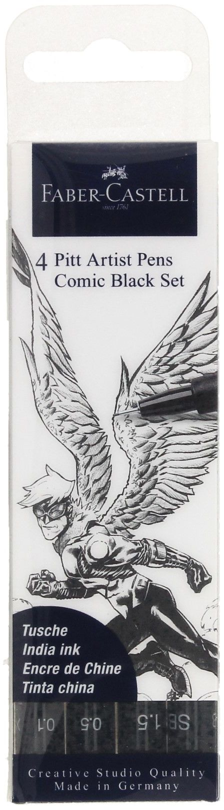 Zestaw Pit Artist do rysowania komiksów (4) The Famazings - Son Faber Castell 267194FC