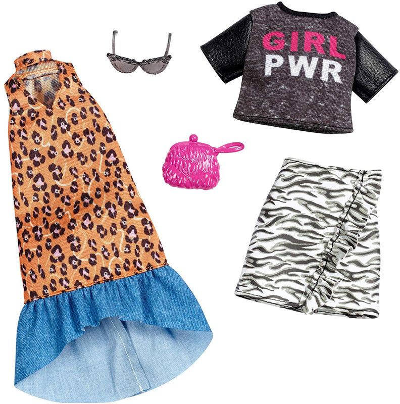 Barbie - Zestaw ubranek 2pak FXJ65