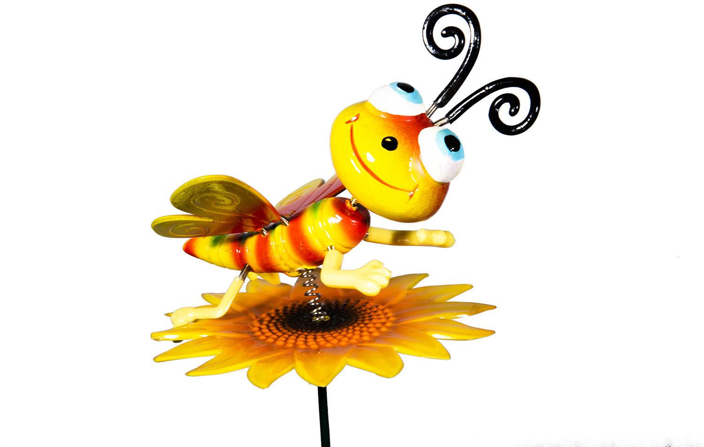Pszczoła na kwiatku - Ozdoba