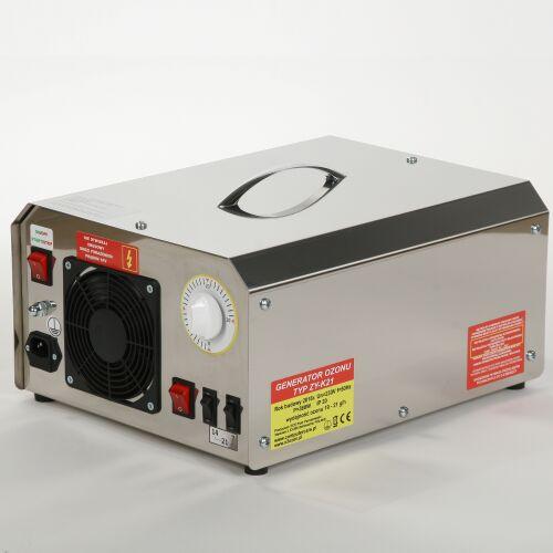 Przemysłowy generator ozonu, wydajność ozonu: 30 g/h
