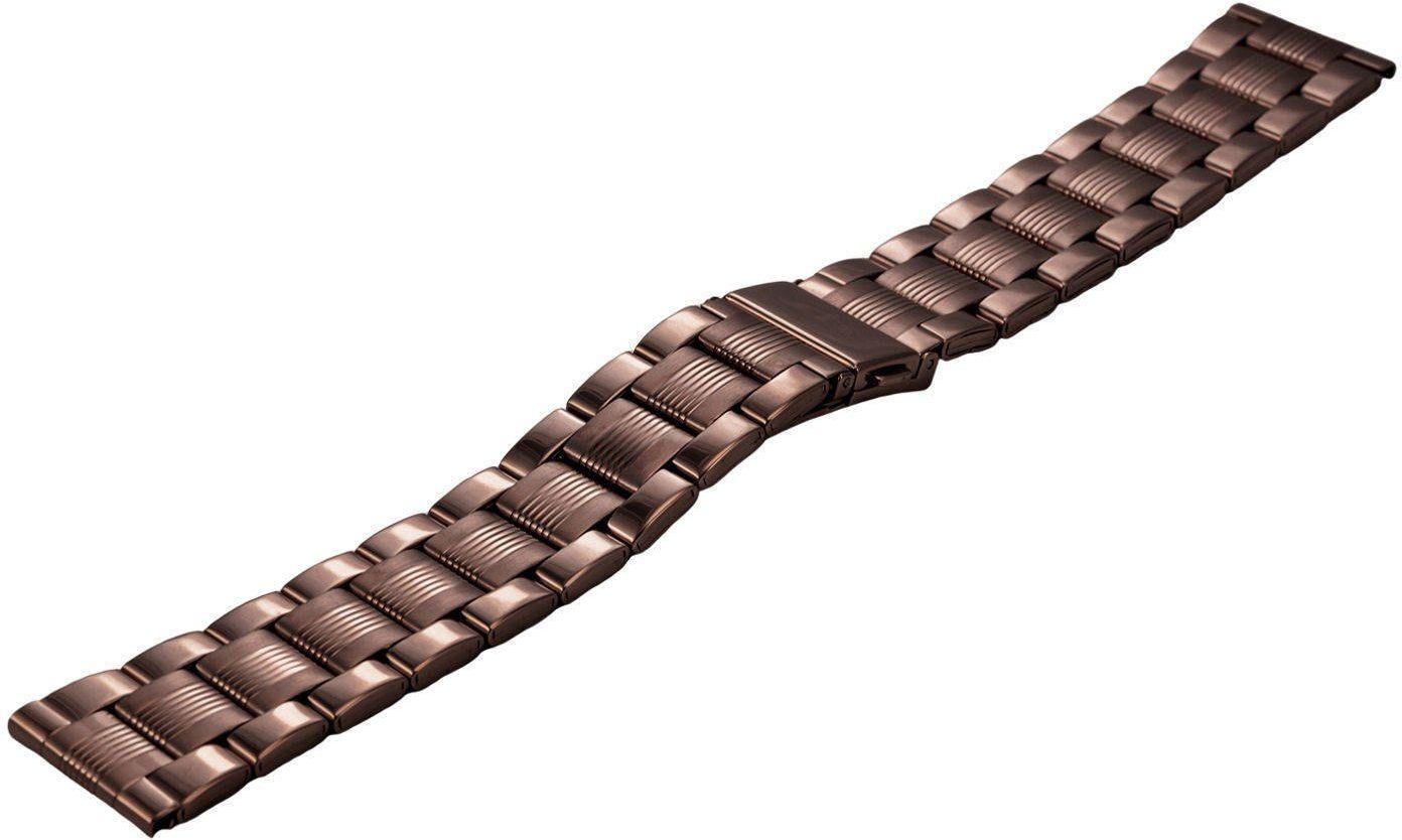 Bransoleta stalowa do zegarka 20 mm BR-109.20 Brown