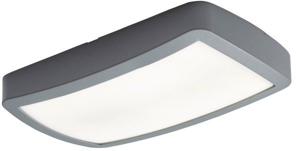 Plafon LED Colours Edin 5000 K 22 cm grey