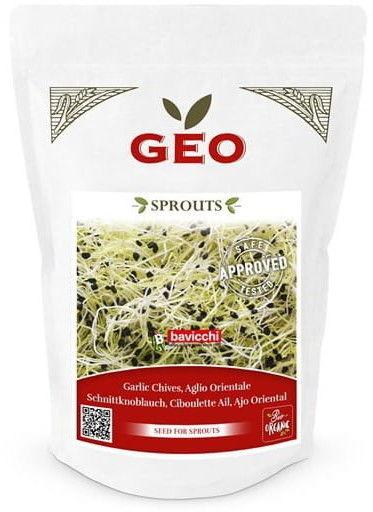 Czosnek - nasiona na kiełki GEO certyfikowane Bavicchi 150 g