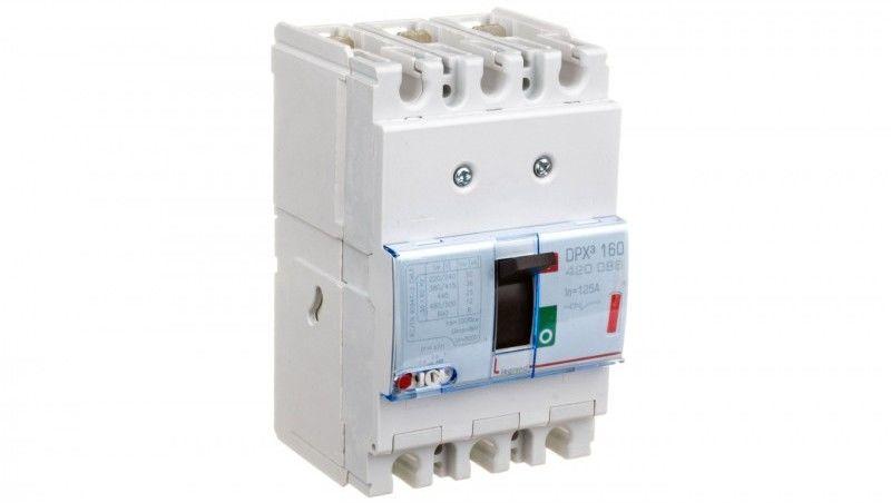 Wyłącznik mocy 3P 125A 36kA DPX3 160 420086