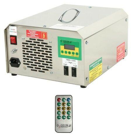 Wielofunkcyjny generator ozonu do klimatyzacji z pilotem, wydajność ozonu: 10 g/h, elektrody odporne na wstrząsy i uderzenia