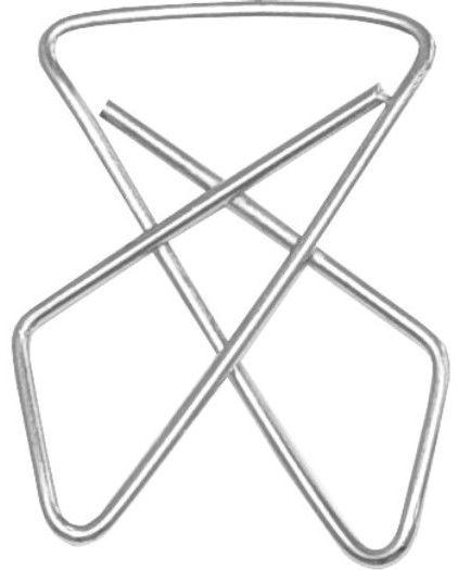 Spinacze biurowe krzyżowe, 41 mm, opakowanie 50 sztuk -  Rabaty  Porady  Hurt  Autoryzowana dystrybucja  Szybka dostawa