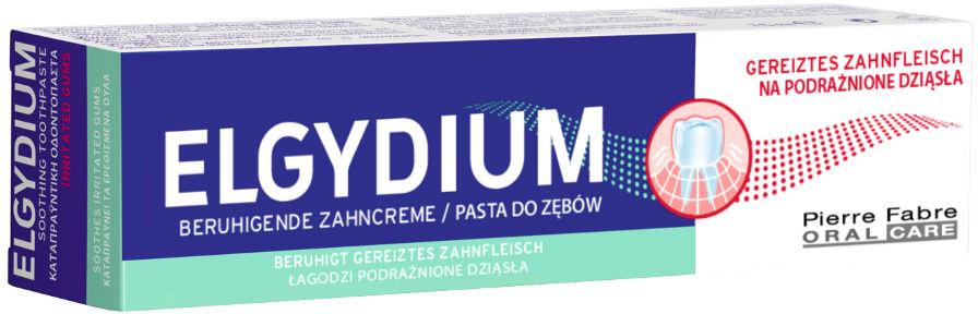ELGYDIUM Na Podrażnione Dziąsła - pasta do zębów na prodrażenie dziąseł 75ml