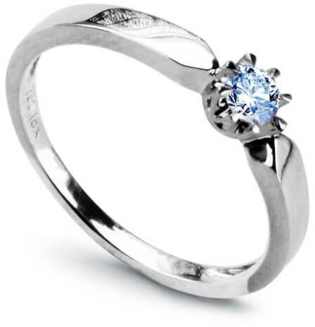 Złoty pierścionek - Szafir