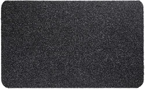 Dywanik Mega Rib, polipropylen, antracyt, 50 x 80 cm