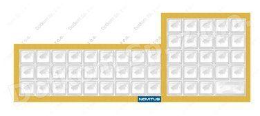 Gumowa pokrywa klawiatury do kasy fiskalnej Novitus Soleo Plus