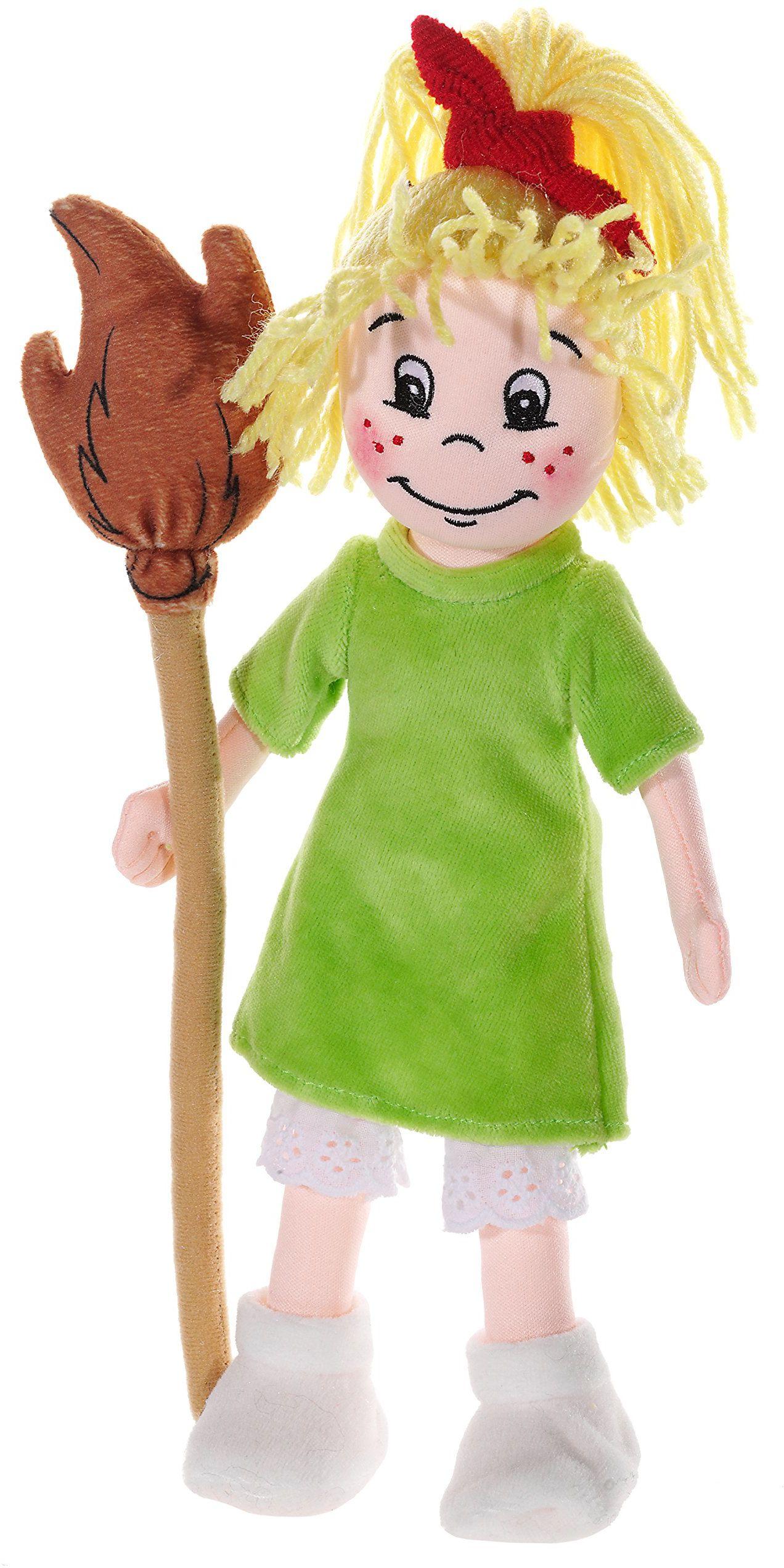 Bibi Blocksberg 476172 pluszowe zwierzątko lalka, kolor skóry/zielony